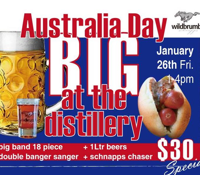 Australia Day at the Distillery