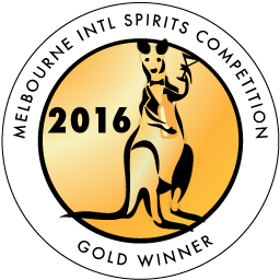 Melbourne International Spirits Gold Medal Winner 2016