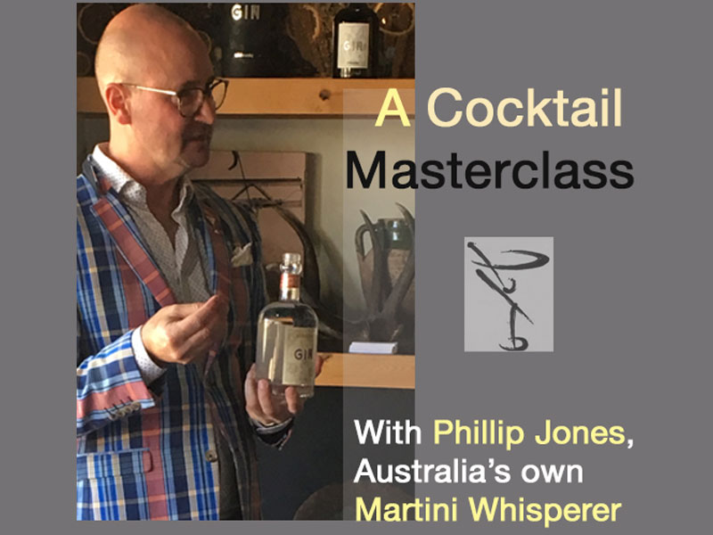 A Cocktail Masterclass At The Distillery