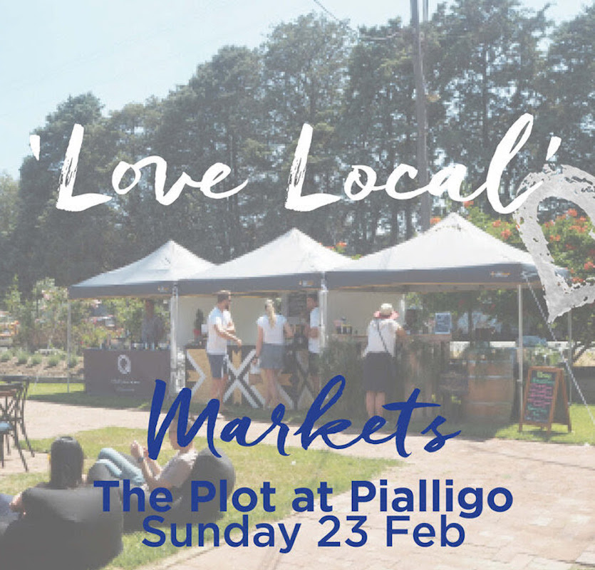 Wildbrumby at 'Love Local' Pialligo Markets